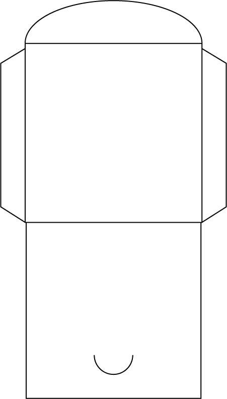 Скачать шаблон для печати на конвертах